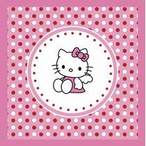 Kit Imprimible Hello Kitty Invitaciones Banderines Candy Bar