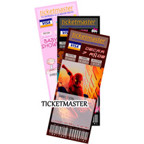 Invitaciones Infantiles Tipo Ticketmaster, Baby Shower Hm4