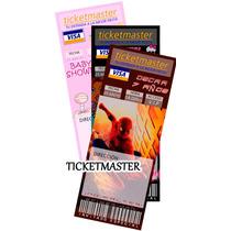 Invitaciones Infantiles Tipo Ticketmaster, Baby Shower Hm4