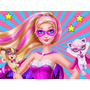 Kit Imprimible Barbie Super Princesa Candy Bar Golosinas 2x1