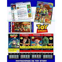 Invitaciones Toy Story-invitaciones Woody-buzz-jessie