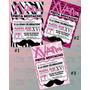 Invitaciones Mustache-invitaciones Xv Años-bigote