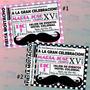 Invitaciones Mustache-invitaciones Xv Años-bigote 3