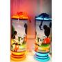 Mickey Mouse Centros De Mesa,recuerdos,lamparas Personaliza
