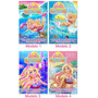 Invitaciones Cumpleaños Barbie Sirena Playa Fiesta