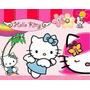 Kit Imprimible Hello Kitty Diseña Tarjetas , Cumples Y Mas