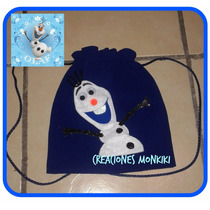 Dulcero Morral Olaf- Frozen Una Aventura Congelada