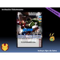 Ki-013 Kit Imprimible Y Editable The Avengers Los Vengadores