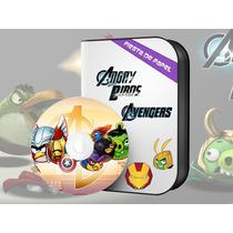 Ki-008 Kit Imprimible Y Editable Angry Avengers