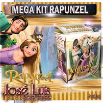 Rapunzel Enredados Invitaciones Kit Imprimible Jose Luis