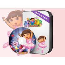 Ki-078 Kit Imprimible Editable Dora La Exploradora