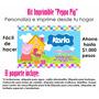 Invitacion Imprimible Peppa Pig + Todo Para Tu Fiesta