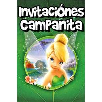 Invitaciones Campanita