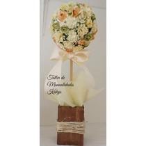 Centros De Mesa Topiarios Bautizos,bodas