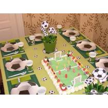 Platos Y Vasos. Para Su Fiesta Temática De Fútbol