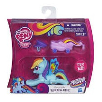 My Little Pony Rainbow Dash Zoom N Go! Importado
