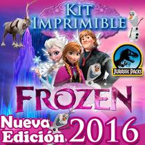 Kit Frozen + Frozen Fever Invitaciones Candybar Nuevo 2016