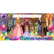 Princesa Sofia Lona Feliz Cumpleaños