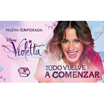 Kit Imprimible Violetta 2da Temporada Disney Fiesta Cumple