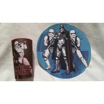 Fiesta Plato Melanina Star Wars Stortroopers! Recuerdo