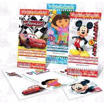 Invitaciones Infantiles Personalizadas Ticketmaster Efectivo