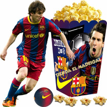 Kit Imprimible Messi Decoraciones Cajitas Fiesta Invitacion