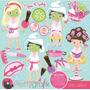 Kit Imprimible Spa Party Imagenes Clipart