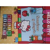 Fiesta De Hello Kitty, Libro Para Colorear Con Texto, Sanrio