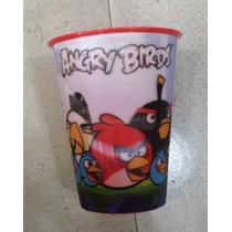 Fiesta Angry Birds Vaso Lenticular 3d Como Recuerdo