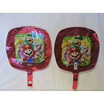 Mario Bross Globos 10 Fiestas Decoración 9 Pulgadas Eventos