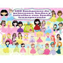 102 Imágenes De Princesas, Hadas Y Estrellas Transparente