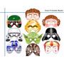 Antifaces De Star Wars Para Fiesta Tematica Imprimelos Tu