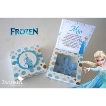 Paq.invitaciones Frozen Princesa Elsa Presentación Recuerdos