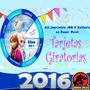 Tarjetas Giratorias Kit Imprimible Invitaciones Nuevo 2016
