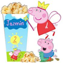 Kit Imprimible Peppa Pig Y George Tarjetas Candy Bar 2x1 !!