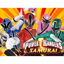 Kit Imprimible Power Rangers Diseñá Tarjetas Cumples Y Mas