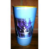 Vaso Dulcero Transformers Lenticular Plastico! Fiesta
