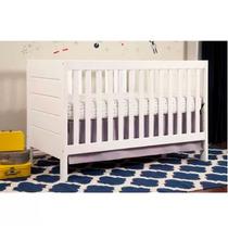 Cuna Convertible 3 En 1 Baby Mod Modena Minimalista Blanco