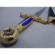 Espadin Espada Masonica Ceremonial De 83cm De Largo Medieval