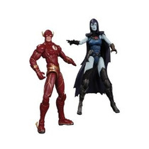 Dc Collectibles Injusticia The Flash Vs Cuervo Figura De Acc