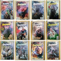 12 Numeros Dc Batman Hush Historia Lote De Comics 608 A 619