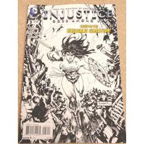 Injustice # 3 Sketch Variant Dc Comic