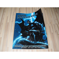 Sdcc 2014 Souvenir Book Batman Tmnt Super Man Dare Devil