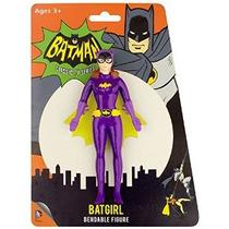 1966 Batman Series Tv Batgirl Flexible De Poseable Figura