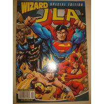 Liga De La Justicia Revista Wizard Edicion Especial