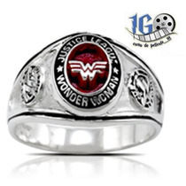 Anillo Wonder Woman Justice League Man Steel Original Dc Igo