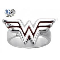 Anillo Wonder Woman Logo Original Dc Igo Envio Gratis!
