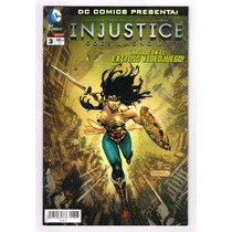 Injustice Gods Among Us # 3 -dc Presenta -editorial Televisa