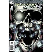 Dc Comics Blackest Night #1 + Anillo 1st Edition En Ingles