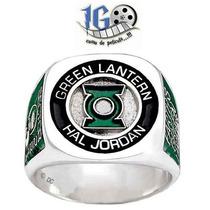 Anillo Linterna Verde Hall Jordan Lantern Original Dc Igo!